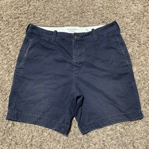 Abercrombie & Fitch Button Fly Shorts Size 32